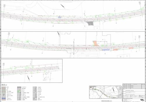 2016 Dtm en topografie meting t.b.v. wegreconstructie