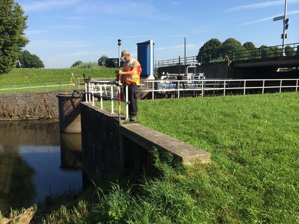 2014 Heusden, revisiemetingen complex oude Maasje afwateringskanaal