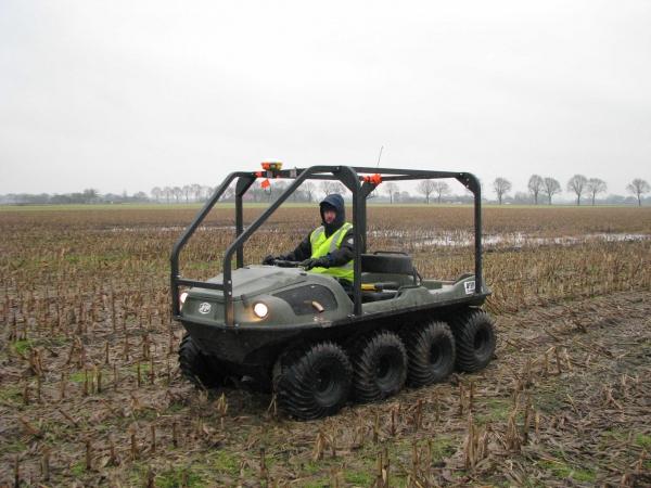 2011 Milsbeek, Koningsvennen digitaal terreinmodel