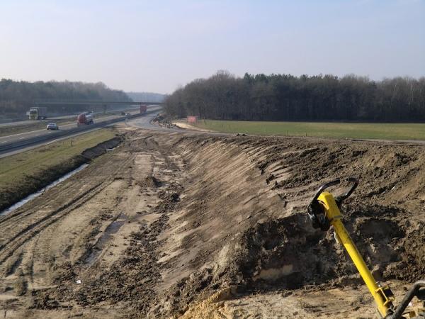 2011 Hapert, aanleg verbindingsweg en aansluiting snelweg