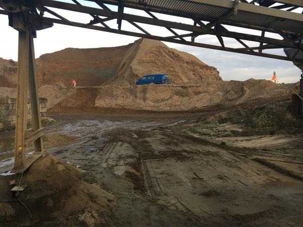 2016 Dtm metingen zanddepot's Hoogdonk