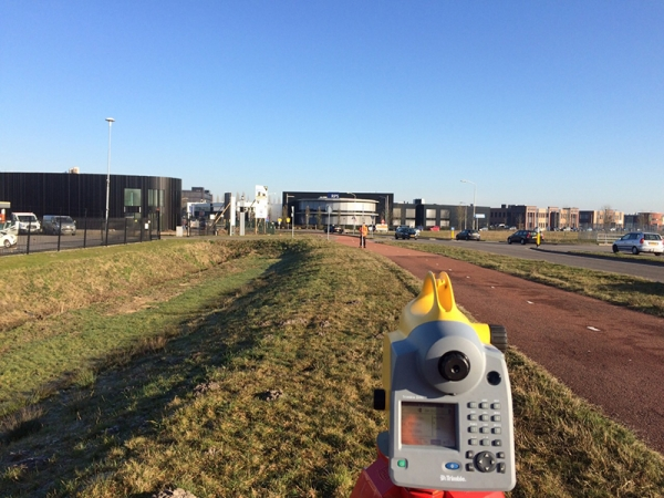 2015 Bavel DTM-asfalt meting op en afritten snelweg