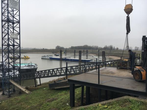2017 Loden scannen en dtm meten Rijksvluchthaven Lobith
